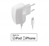 1083-TTC, СЗУ MFI, PowerMate, 1 А, lightning s8pin, для iPhone 5, iPad Mini, бел., teXet